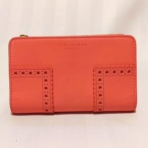 🧡 TORY BURCH LEATHER WALLET!